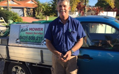 Meet Peter Townsend: Mobile Lawn Mower Repair Expert