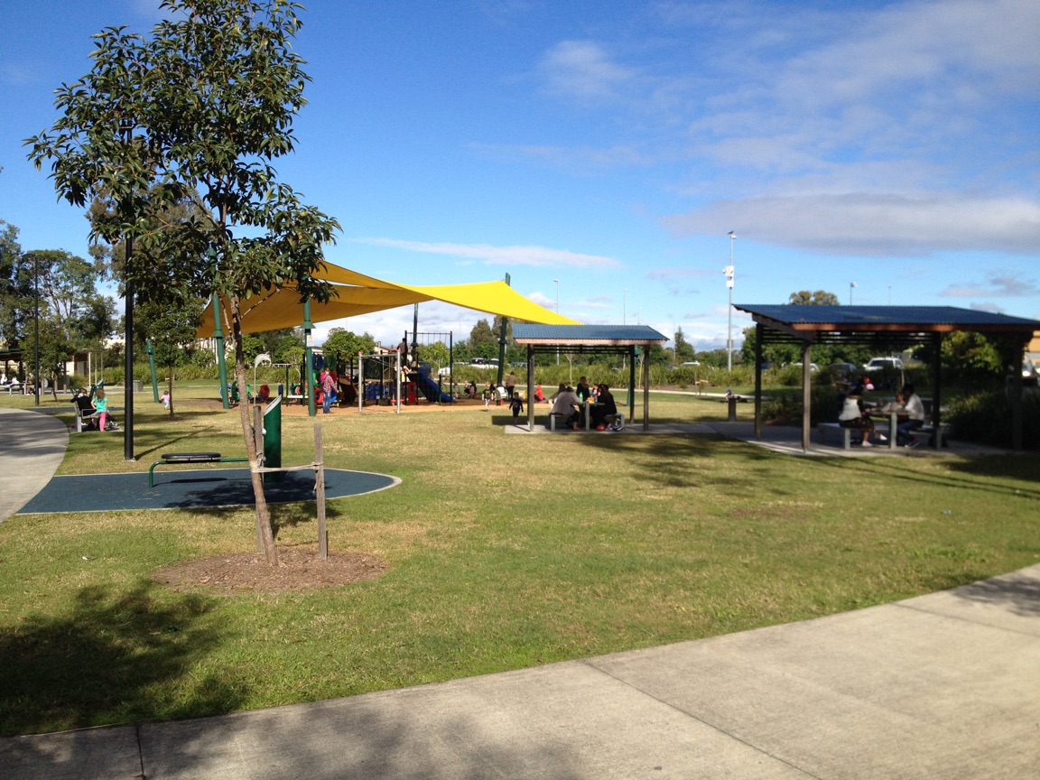 Lovely park at the Upper Coomera Centre © GreenSocks