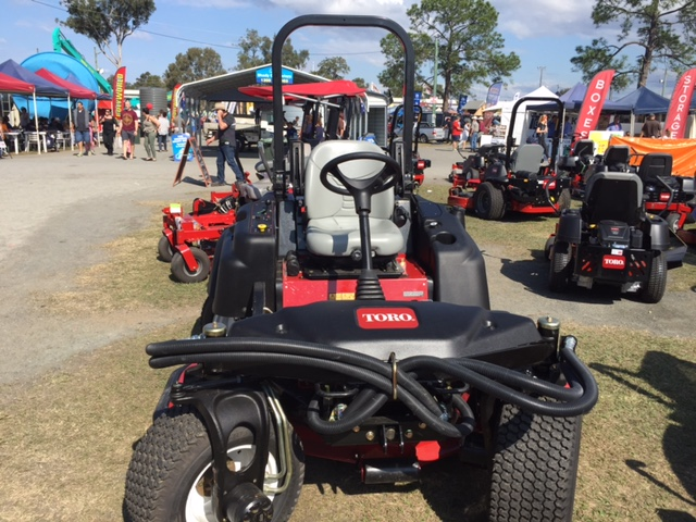 The Toro Groundsmaster® 360 Quad-steer mower at the Farm Fantastic Expo © GreenSocks