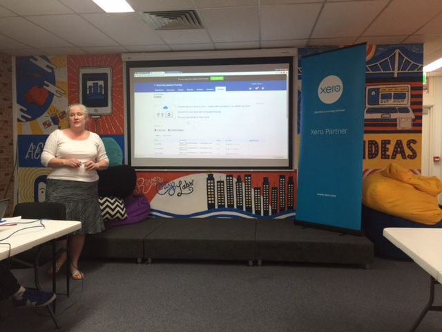 Heather Smith at River City Labs Startup Accelerator, Brisbane © GreenSocks