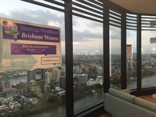 StartupWeekend for Women at BlueSky, Brisbane
