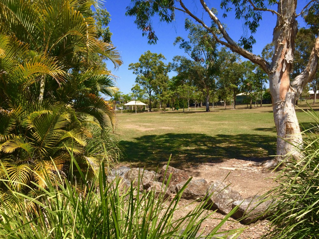 Mowing services in Browns Plains - Why not play hide-and-seek with your kids on the lawn in Forestglen Park, Browns Plains? © GreenSocks