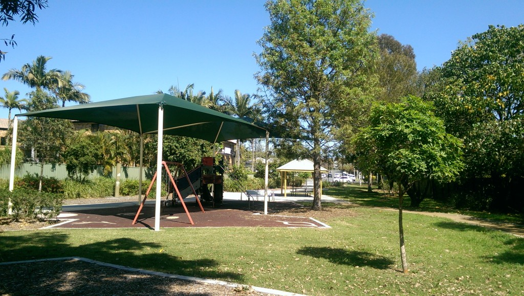 We're loving all the shade on the lawns and playgrounds in Amelia Park © GreenSocks